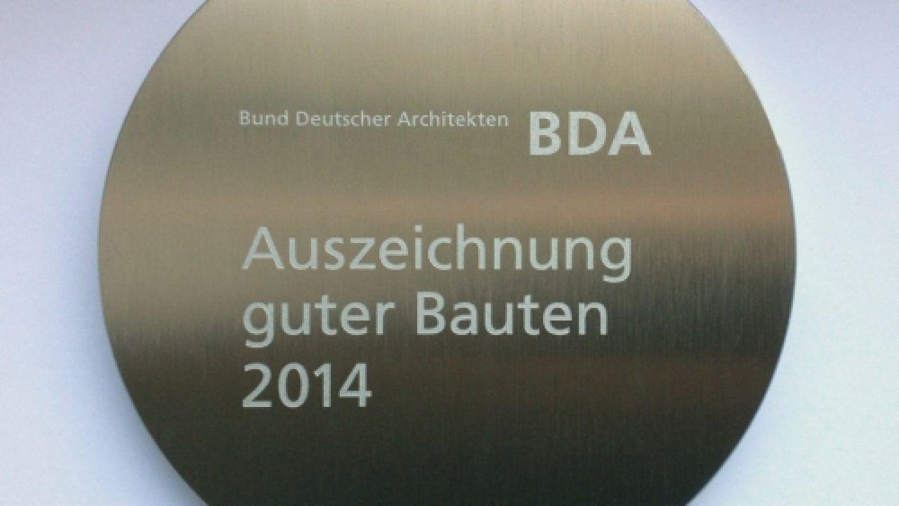 Plakette der Auszeichnungen