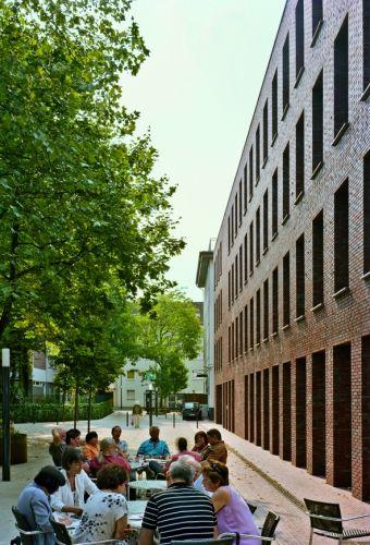 bund deutscher architekten diakonie d sseldorf pflegeheim und kirche. Black Bedroom Furniture Sets. Home Design Ideas