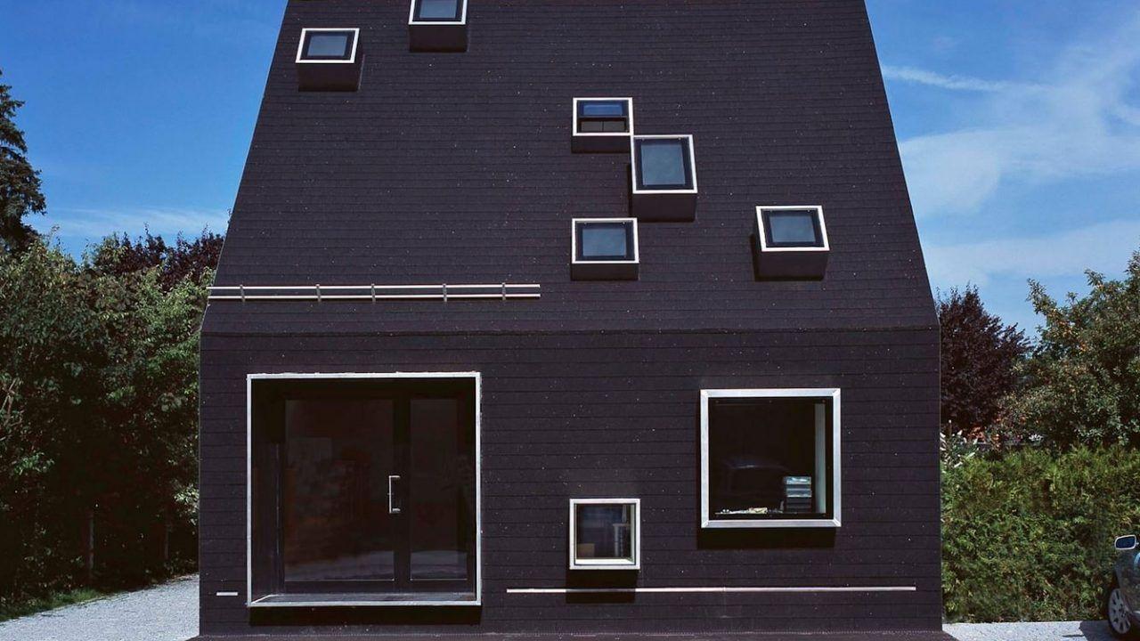 bund deutscher architekten das schwarze haus krailling. Black Bedroom Furniture Sets. Home Design Ideas