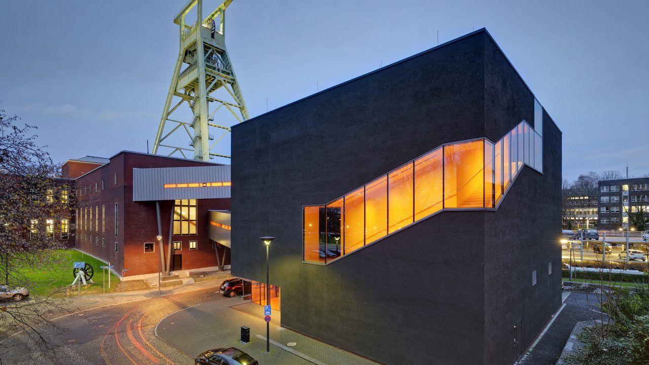 Bund deutscher architekten erweiterung deutsches bergbau museum bochum - Architekturburo bochum ...