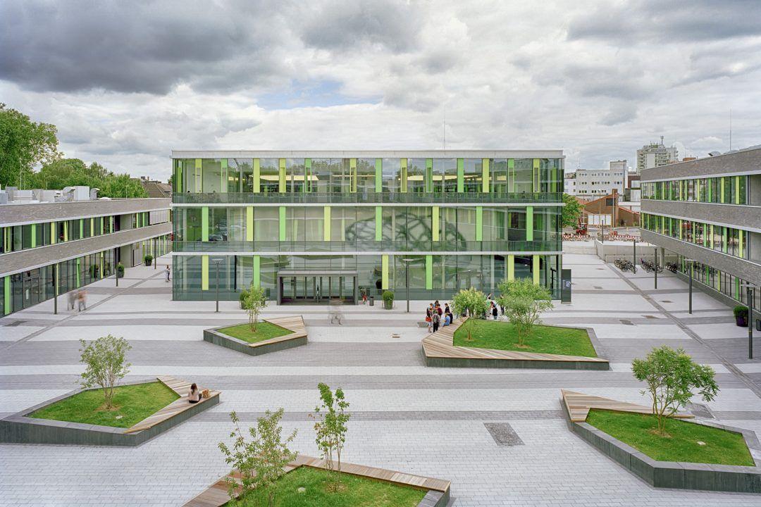 bund deutscher architekten neubau hochschule rhein waal campus kamp lintfort. Black Bedroom Furniture Sets. Home Design Ideas