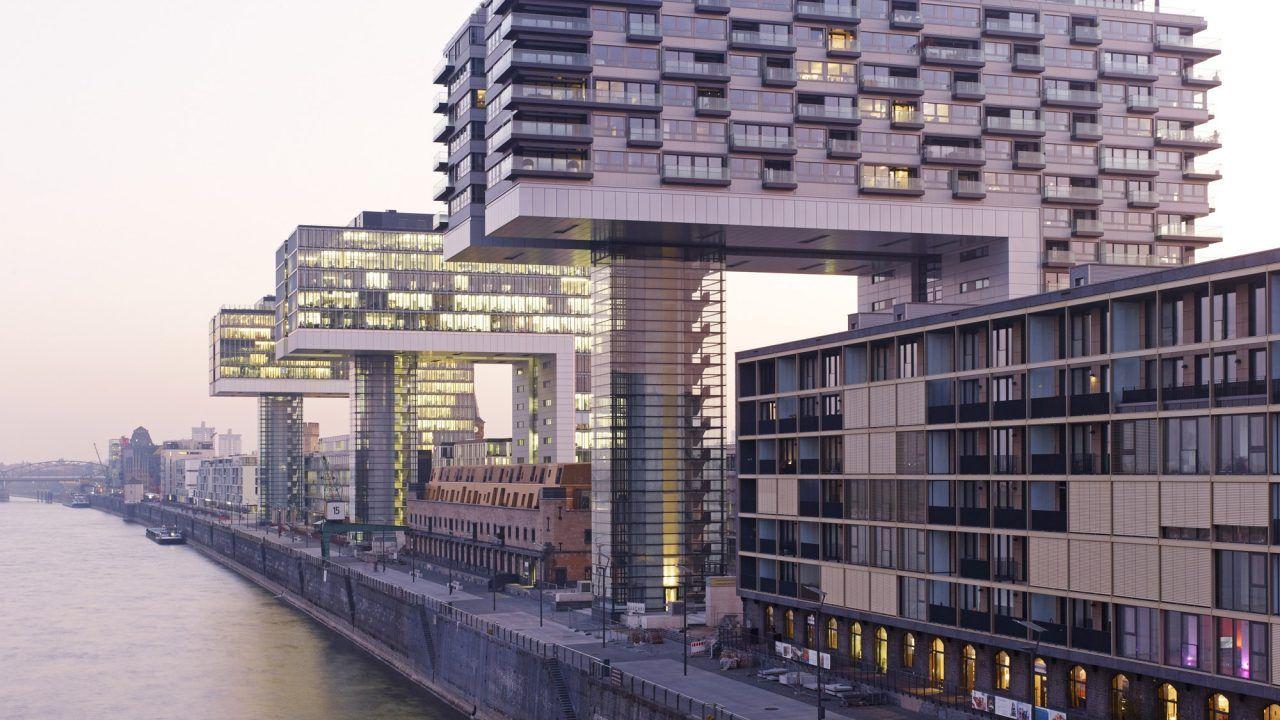 Architektur Köln bund deutscher architekten kranhäuser rheinauhafen köln geschäfts