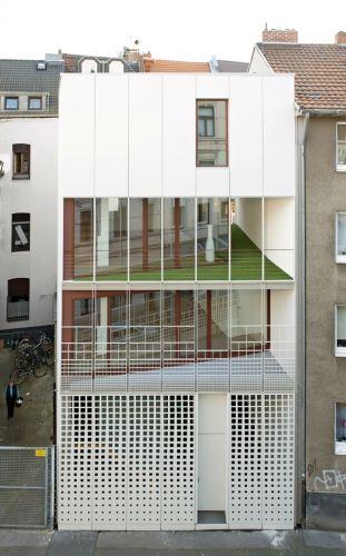 bund deutscher architekten stadthaus florastra e. Black Bedroom Furniture Sets. Home Design Ideas
