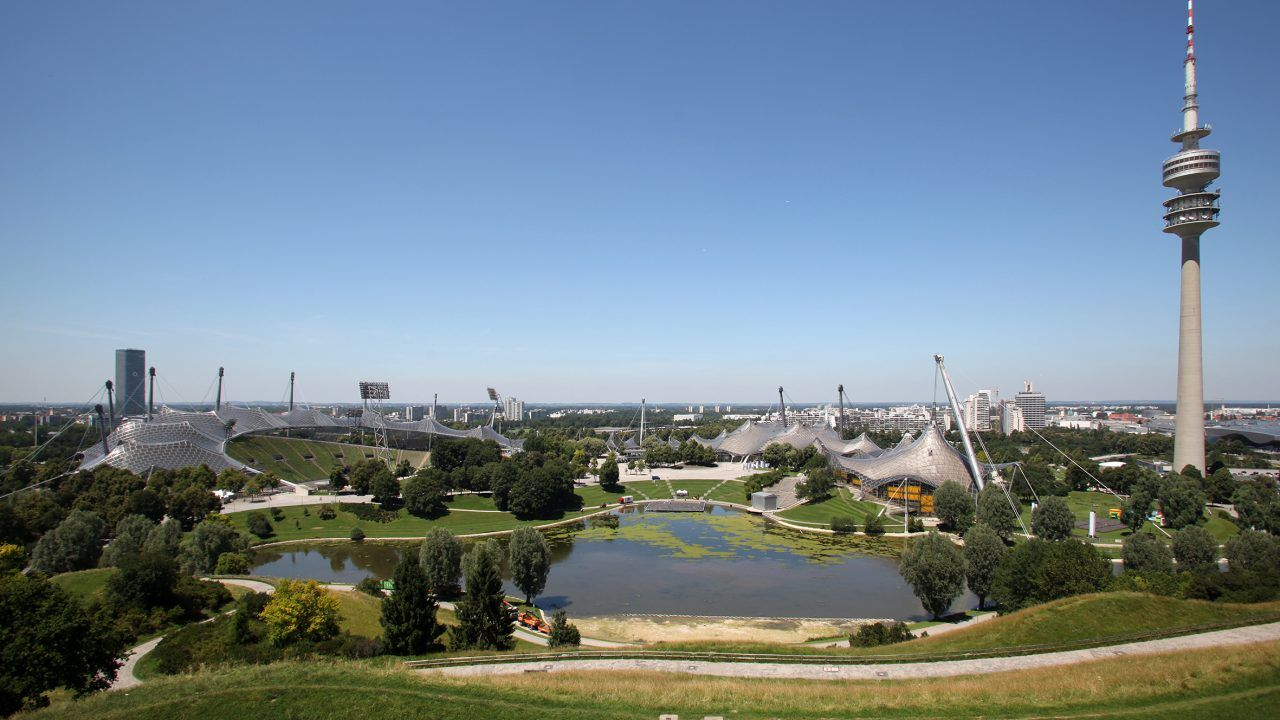 bund deutscher architekten olympiapark m nchen anlagen und bauten f r die olympischen spiele 1972. Black Bedroom Furniture Sets. Home Design Ideas