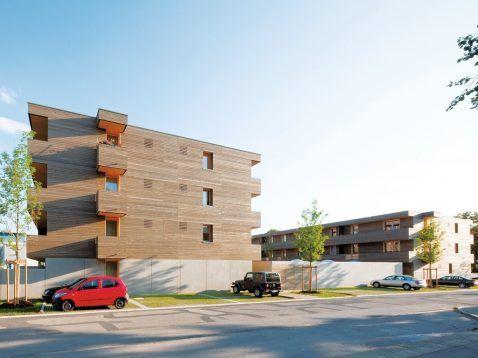 Einer von zehn Preisträgern: Ansbach, Herbartstraße, Deppisch Architekten. Foto: Sebastian Schels, München