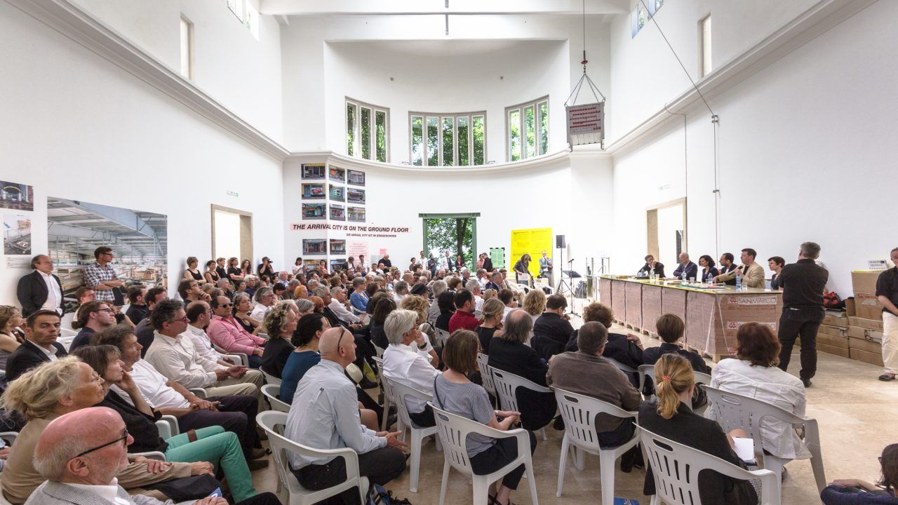 BDA-Symposium, Architekturbiennale Venedig 2016, Foto: Leon Lenk