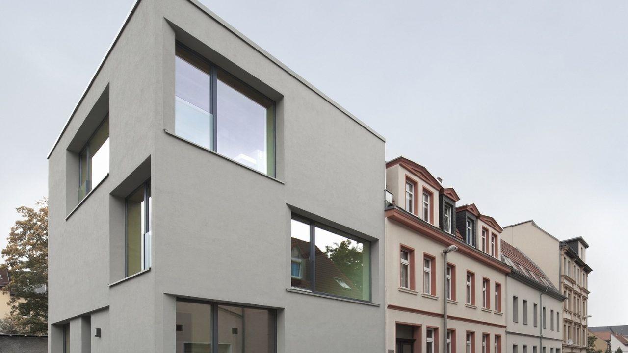 bund deutscher architekten stadthaus apostelstra e. Black Bedroom Furniture Sets. Home Design Ideas