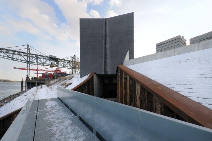 bund deutscher architekten hochwasserpumpwerk mainz. Black Bedroom Furniture Sets. Home Design Ideas