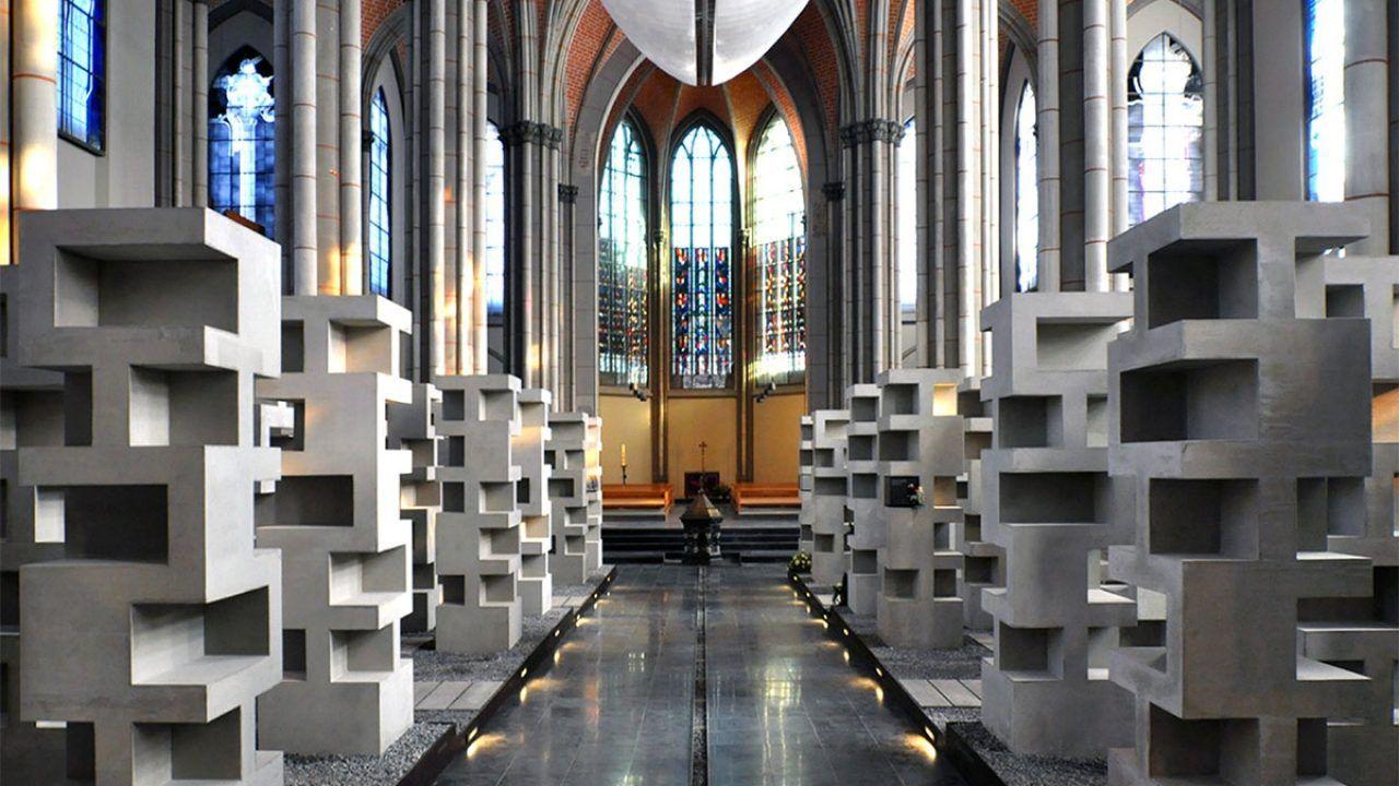 bund deutscher architekten umbau der grabeskirche st josef in eine urnenbeisetzungsst tte aachen. Black Bedroom Furniture Sets. Home Design Ideas
