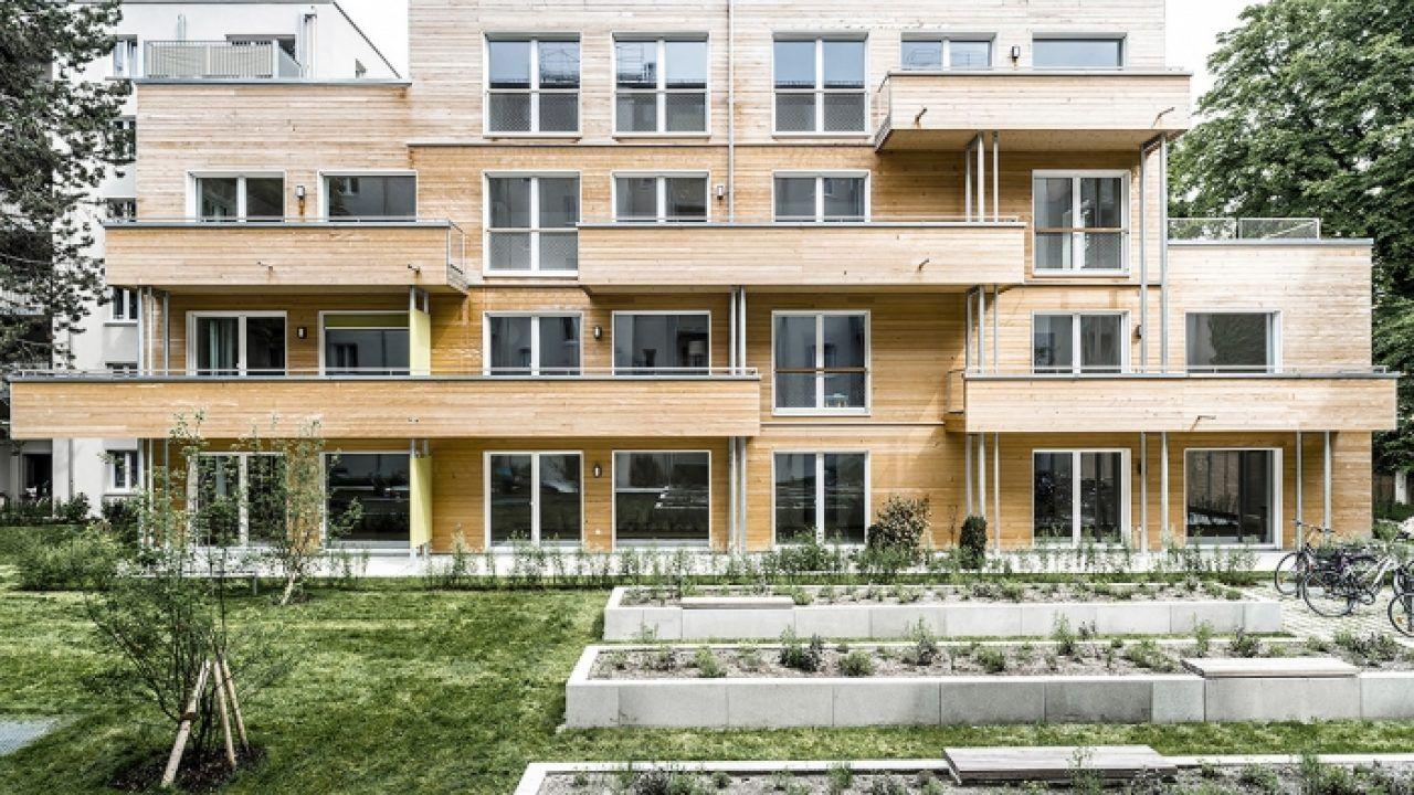 bund deutscher architekten neubau wohnanlage in holzbauweise. Black Bedroom Furniture Sets. Home Design Ideas