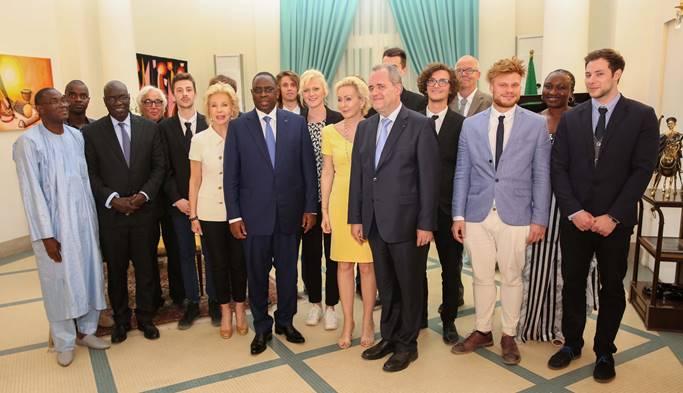 Empfang beim Praesidenten des Senegal