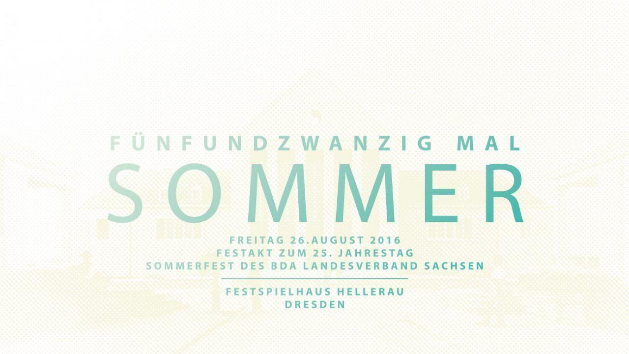 Sommerfest des BDA LV Sachsen 2016