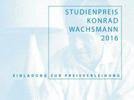 Studienpreis Konrad Wachsmann 2016