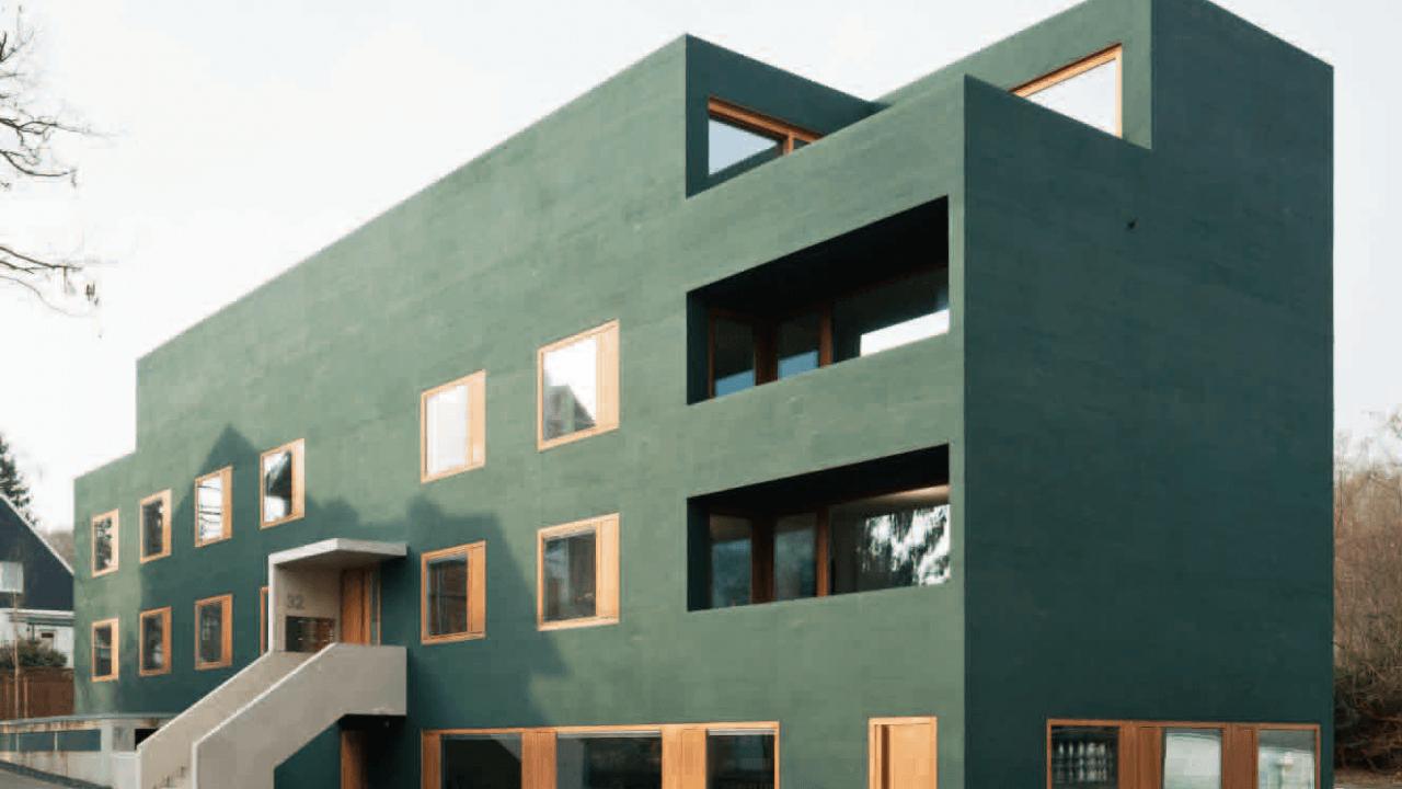 Gesamtwerk Architektur bund deutscher architekten wohn und geschäftshaus mit tiefgarage