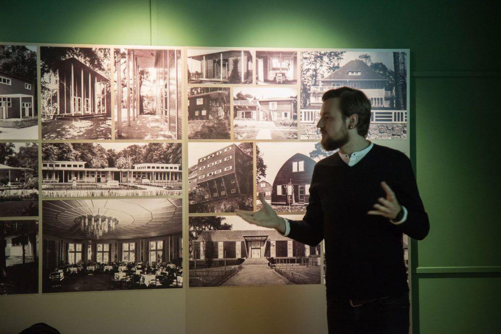 "3. Studienpreis Konrad Wachsmann 2016 - Vortrag ""jung-erfolgreich-bda"" Fotograf: André Schulze"