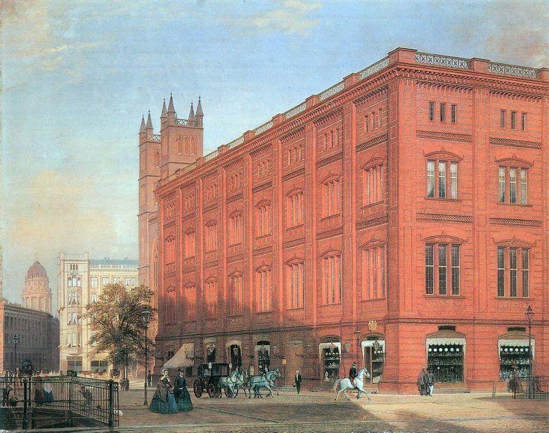 Bauakademie, Eduard Gärtner, 1868