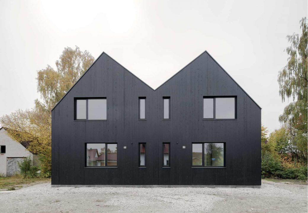 bund deutscher architekten stephan rauch doppelhaus moorenweis. Black Bedroom Furniture Sets. Home Design Ideas