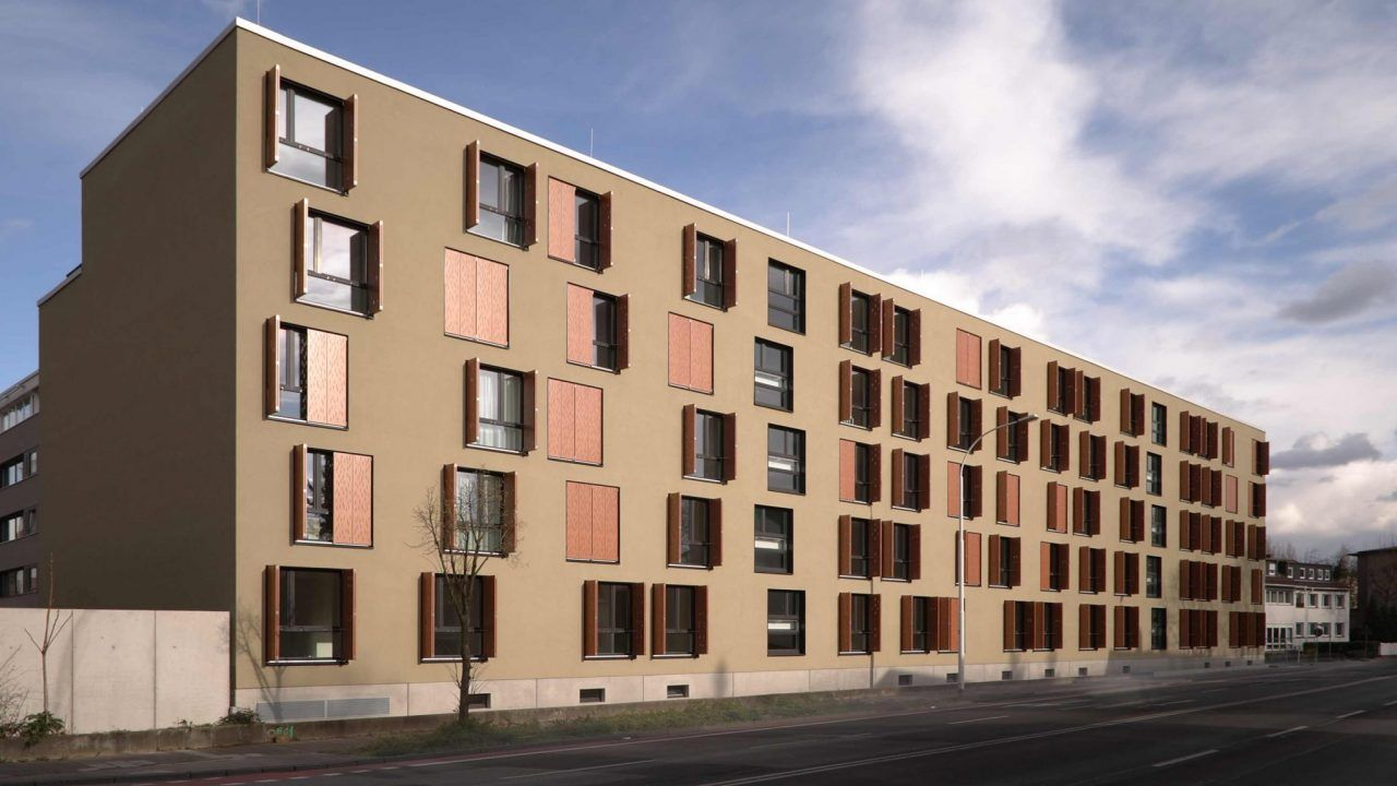 bund deutscher architekten wohngeb ude goethestra e 69 71 darmstadt. Black Bedroom Furniture Sets. Home Design Ideas