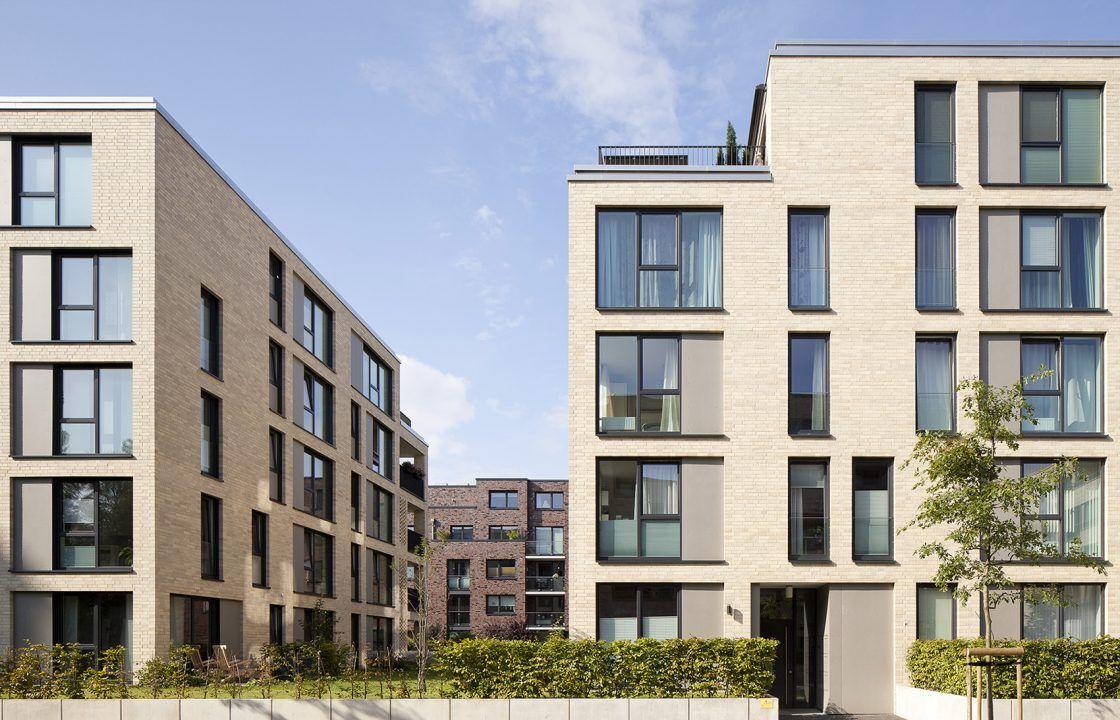 bund deutscher architekten wohnanlage auf dem stadtwerder. Black Bedroom Furniture Sets. Home Design Ideas