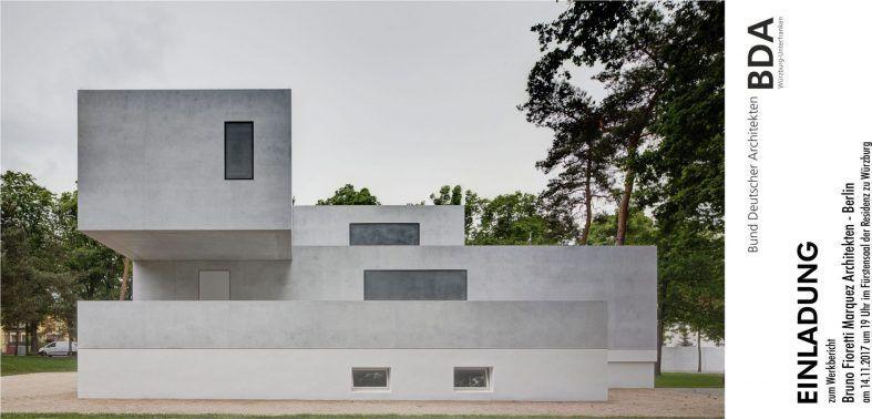 Bund Deutscher Architekten Werkbericht Bruno Fioretti