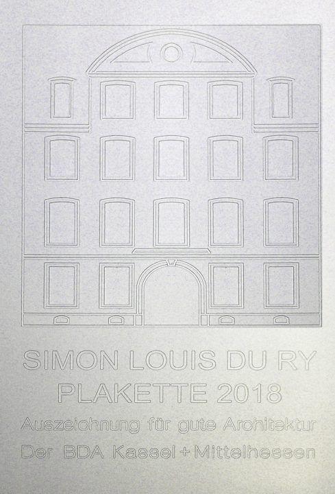Bund Deutscher Architekten 187 Preistr 228 Ger Simon Louis Du